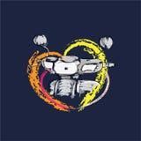Mój motocykl ilustracji