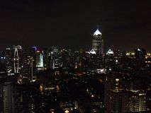 Mój noc w Bangkok Zdjęcia Stock