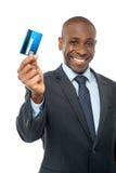 Mój nowa kredytowa karta Zdjęcia Stock