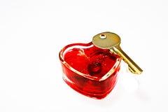 mój serce klucz Zdjęcia Royalty Free