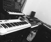 Mój studio zdjęcie stock