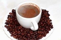 Mój ulubiona kawa Zdjęcia Royalty Free