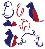 Mój ulubiony zwierzę domowe royalty ilustracja