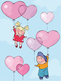 mój valentine jest royalty ilustracja