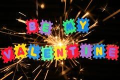 mój valentine jest Obrazy Stock