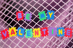 mój valentine jest Zdjęcia Stock