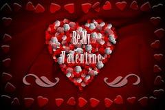 mój valentine jest Fotografia Royalty Free