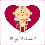 Mój valentine jest ilustracji