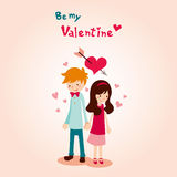 Mój Walentynką jest Obraz Stock