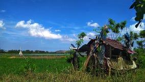 Mój wioski ia piękny zdjęcia stock