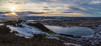 Mój wycieczka bajecznie Iceland Fotografia Royalty Free