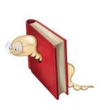 Mól książkowy ilustracja Zdjęcie Stock