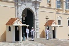 Mónaco, cambio del guardia Imagenes de archivo
