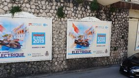 Mónaco E-Prix 2019 almacen de video