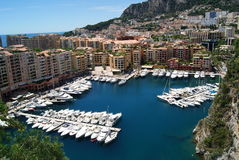 Mónaco, Francia imagen de archivo
