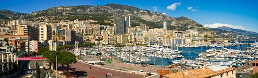 Mónaco Monte Carlo Imágenes de archivo libres de regalías