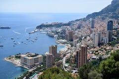 Mónaco/Monte-Carlo Bay Fotografía de archivo