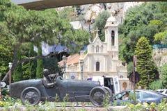 Mónaco, vista de la ciudad Imagenes de archivo