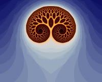 mózg fractal 29 a ilustracja wektor