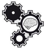 Mózg maszyna Zdjęcia Stock