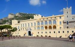 Mônaco, palácio do ` s do príncipe fotografia de stock