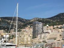 Mônaco, vista do porto Hercule foto de stock royalty free