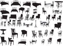 Möbel stock abbildung