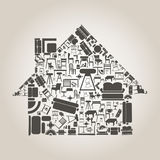 Möbel das Haus Stockfoto