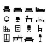 Möbel-Ikone Lizenzfreie Stockfotos