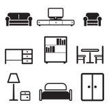 Möbel-Ikonen Lizenzfreies Stockfoto