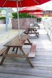 Möbel im Freien Lizenzfreies Stockfoto