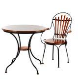 Möbel, Schreibtisch und Stuhl Lizenzfreie Stockfotografie