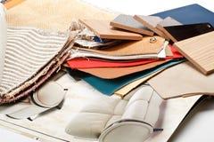 Möbelmaterialien Lizenzfreies Stockfoto