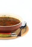 Möbeln Sie Suppe auf Stockbild