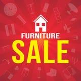 Möbelverkaufsfahne Lizenzfreie Stockbilder