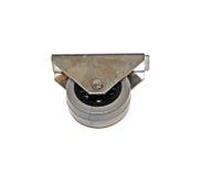 Möblemangfurntura - isolerat metallhjul Royaltyfri Fotografi