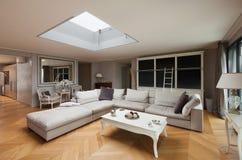 Möblerad härlig lägenhet Royaltyfri Fotografi