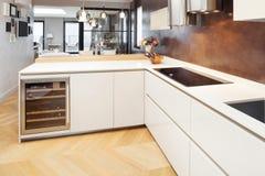Möblerad härlig lägenhet Fotografering för Bildbyråer
