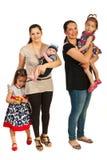 Mödrar och deras ungar Royaltyfria Foton
