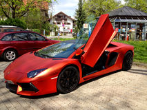 Mögen Sie Luxus? /Ferrari Stockfotos