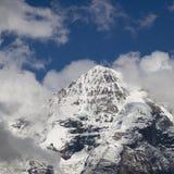 Mönch, Schweizer Alpen Lizenzfreies Stockfoto