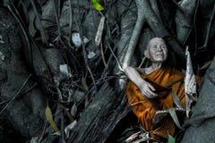 Mönch Statue Lizenzfreies Stockfoto