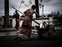Mönch Thai Lizenzfreies Stockfoto