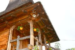 Mönchräume von Heilig-Anna--Rohiakloster, aufgestellt in einem natürlichen und in einem Platz Lizenzfreie Stockfotos