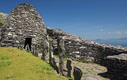 Mönchregelung im Grafschaft Kerry Stockbilder