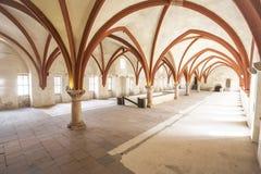 Mönchschlafsaalkloster Eberbach Deutschland Stockbild