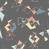 mönsan den seamless vektorn Gullig och färgrik bakgrund Arkivbilder