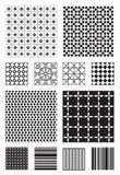 mönsan vektorn vektor illustrationer