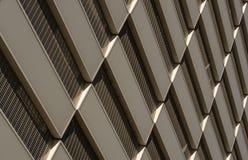 Mönstra på en fasad 1 Arkivfoto