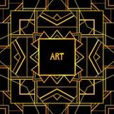 Mönstrad bakgrund för abstrakt geometrisk konst Arkivfoto